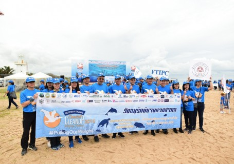 """International Coastal Cleanup 2019 : ICC """"Pulling Our Weight"""""""